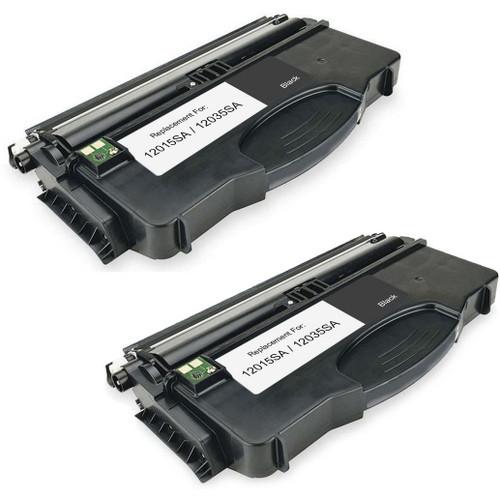Lexmark 12015SA - 12035SA  2-pack replacement