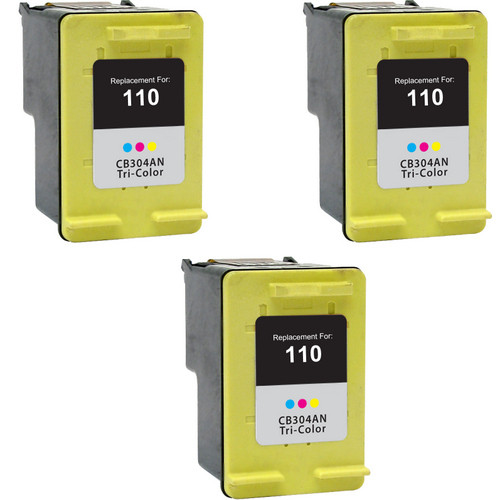 HP 110 Color 3-pack replacement