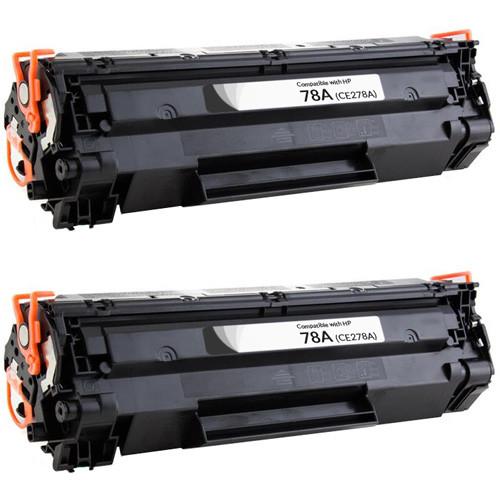 HP 78 (CE278A) Toner Cartridge - 2-Pack