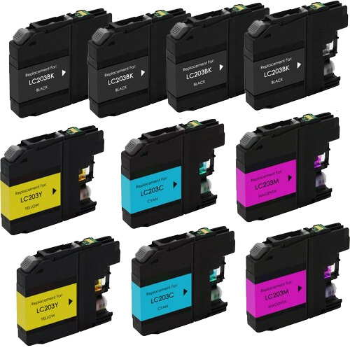 Brother LC203 Ink - 10-pack