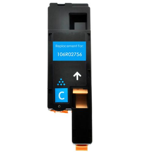 cyan toner cartridge replacement for Xerox 106R02756