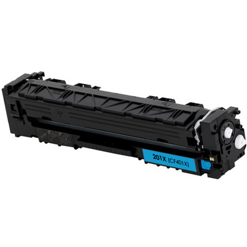 HP 201X (CF401X) Toner Cartridge Cyan