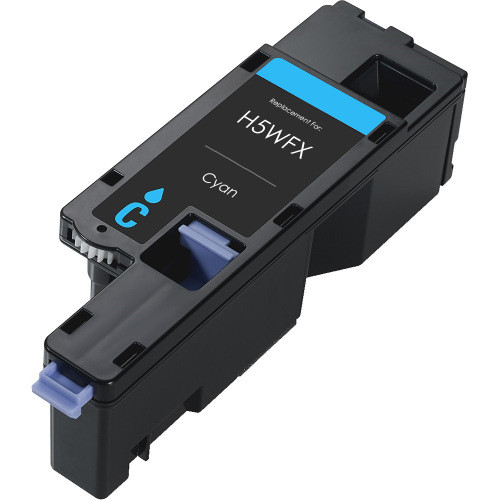 Compatible replacement for Dell H5WFX Cyan toner cartridge for Dell E525W series printers