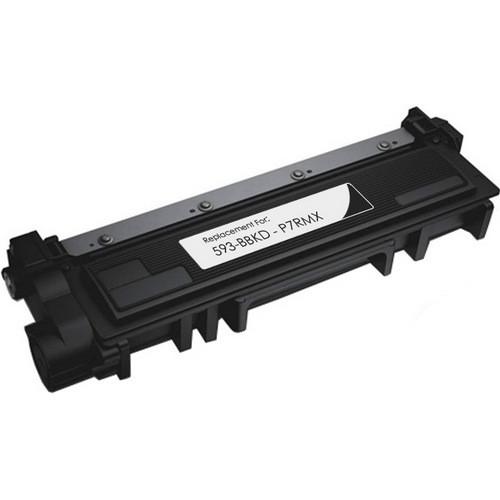 Dell 593-BBKD (P7RMX) black toner cartridge for use in for Dell E310