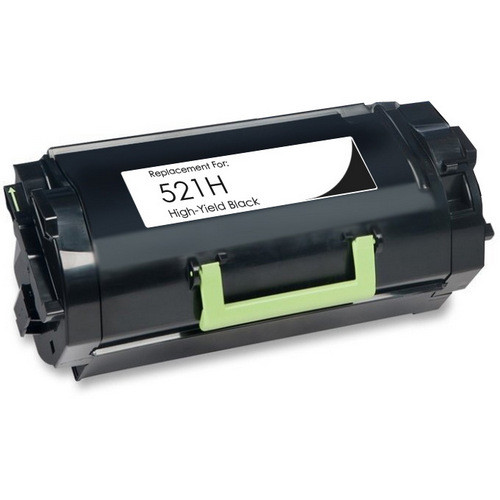 Lexmark 521H - (52D1H00) High Yield black toner cartridge