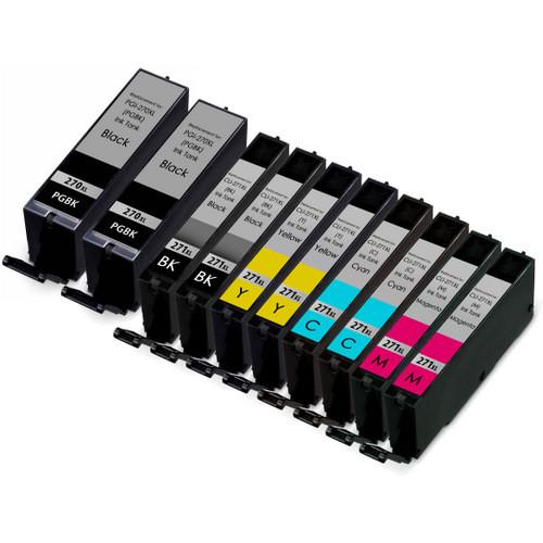 Canon PGi-270XL and Cli-271XL Ink Cartridge Set 10-Pack