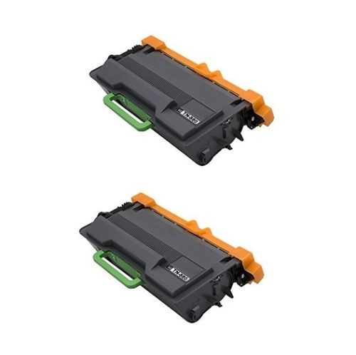 2 Pack - Compatible Brother TN880 Toner Cartridges