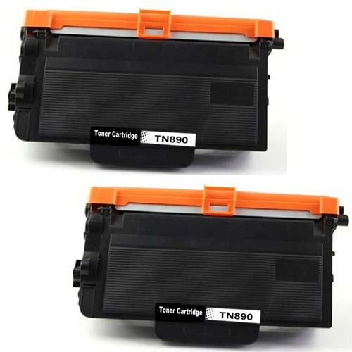 Brother TN890 Toner Cartridges - 2 pack