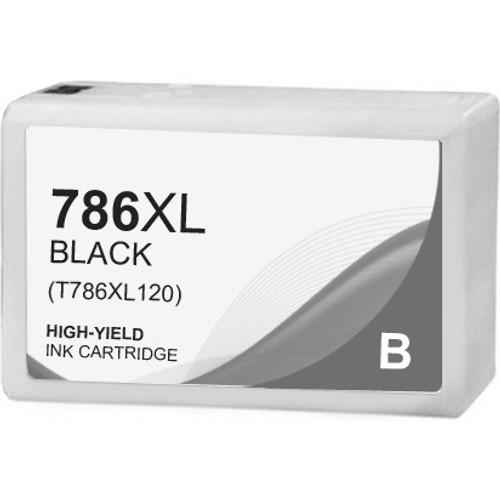 Epson 786XL Ink Cartridge, Black, High Yield