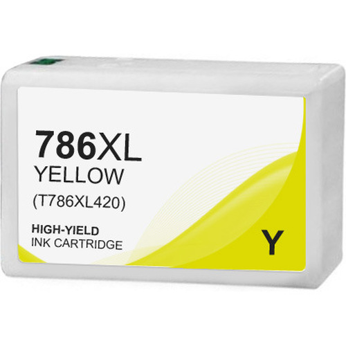 Epson 786XL Ink Cartridge, Yellow, High Yield