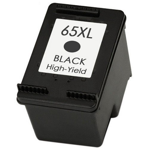 HP 65XL Ink Cartridge, Black, High Yield, N9K04AN