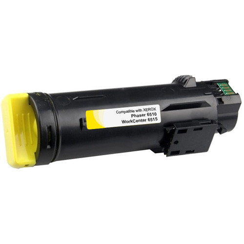 Xerox Phaser 6510 Yellow Toner, Extra High Yield