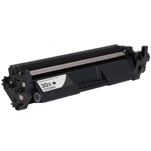 HP 30X Toner Cartridge, Black, High Yield (CF230X)