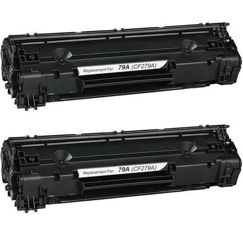 HP 79A Toner Cartridge, 2 Pack CF279A
