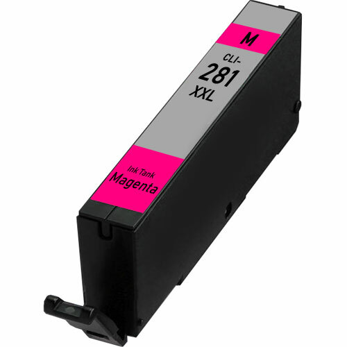 Canon CLI-281 XXL Magenta Super High-Yield Ink Cartridge (1981C001) (CLi-281 XXL Magenta)
