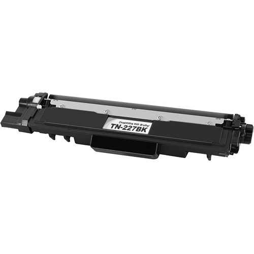 Brother TN227Bk Toner Cartridge, Black, High Yield
