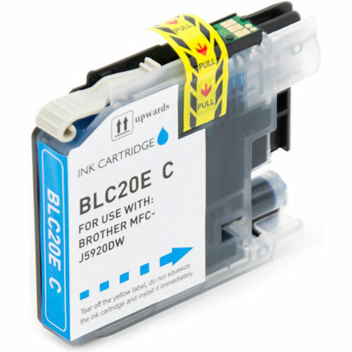 Brother LC20EC Ink Cartridge, Super High-Yield (LC20E Cyan)