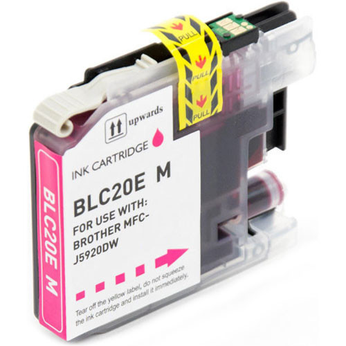 Brother LC20EM Ink Cartridge, Super High-Yield (LC20E Magenta)