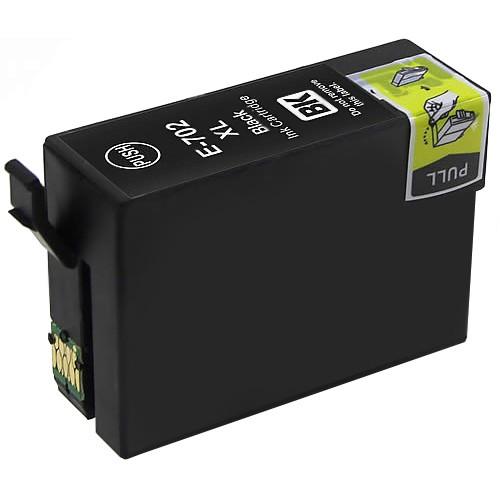 Epson 702XL Black Ink Cartridge, High Yield (T702XL120)