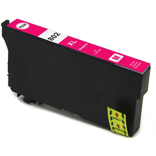 Epson 802XL High Yield, Magenta Ink Cartridge (T802XL320)