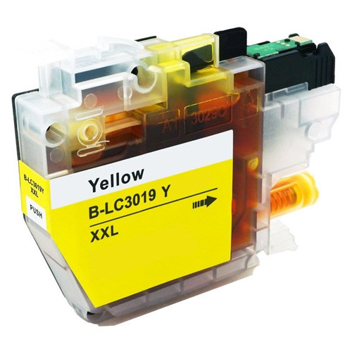 Brother LC3019Y Ink Cartridge, Yellow, Super High-Yield