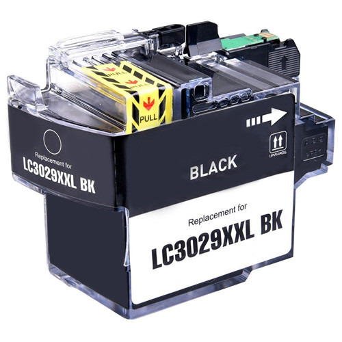 Brother LC3029BK Ink Cartridge, Black, Super High-Yield