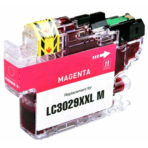 Brother LC3029M Ink Cartridge, Magenta, Super High-Yield