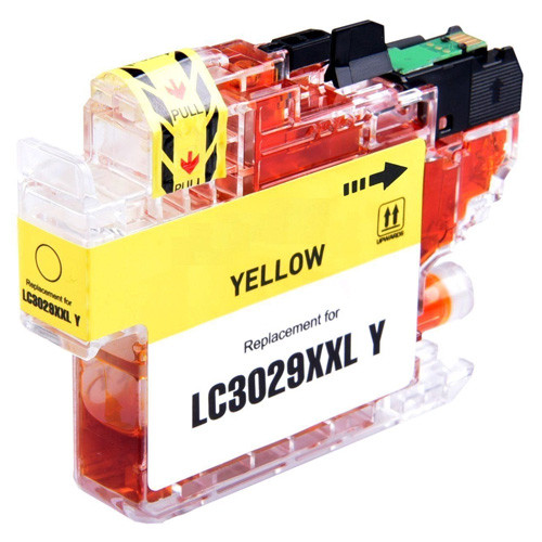 Brother LC3029Y Ink Cartridge, Yellow, Super High-Yield
