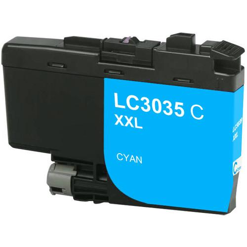 Brother LC3035C Ink Cartridge, Cyan, Ultra High-Yield