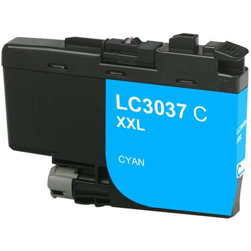 Brother LC3037C Ink Cartridge, Cyan, Super High-Yield