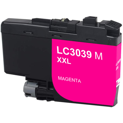 Brother LC3039M Ink Cartridge, Magenta, Ultra High-Yield