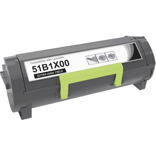 Lexmark 51B1X00 Toner Cartridge, Extra High-Yield