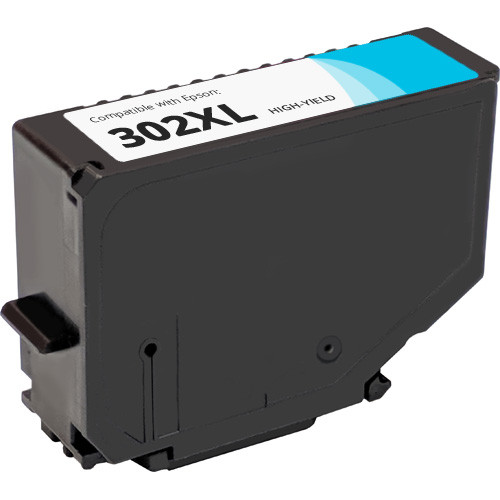 Epson 302XL Cyan High Yield Ink Cartridge (T302XL220)