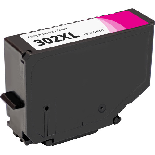 Epson 302XL Magenta High Yield Ink Cartridge (T302XL320)