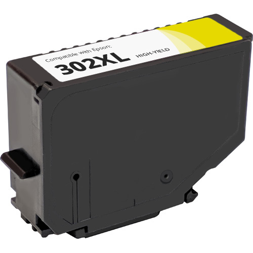 Epson 302XL Yellow High Yield Ink Cartridge (T302XL420)