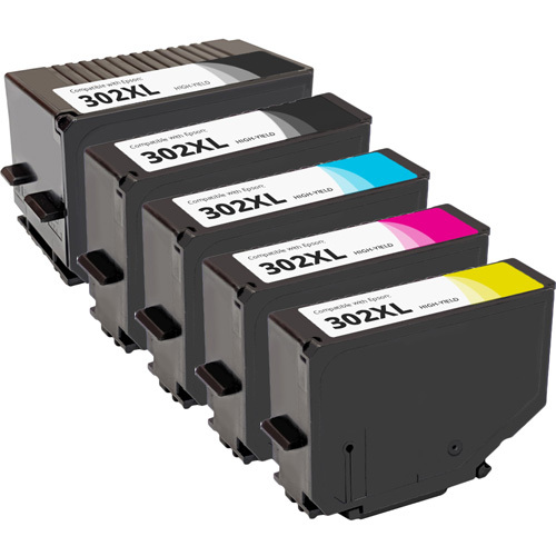 Epson 302XL Ink Cartridge Set, High Yield