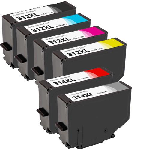 Epson 312XL and 314XL Ink Cartridge Set