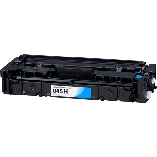 Canon 045H Cyan High-Yield Compatible Toner Cartridge