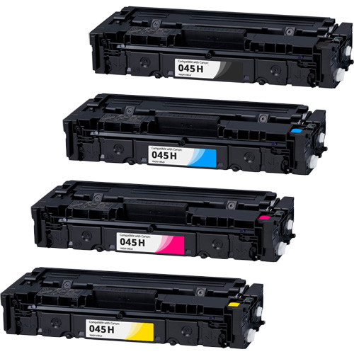 Canon 045H High-Yield Compatible Toner Cartridge Set