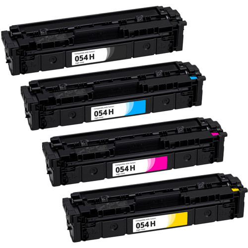 Canon 054H High-Yield Toner Cartridge Set