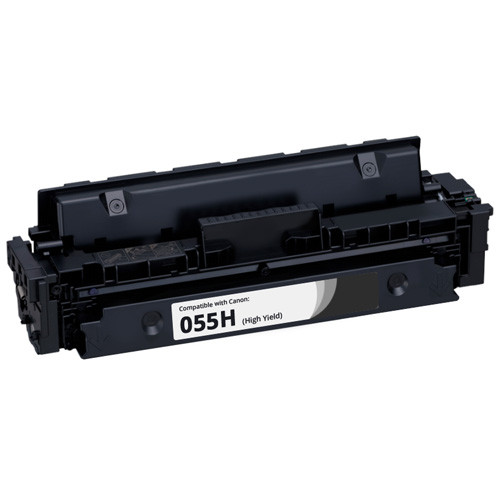 Canon 055H Black High-Yield Toner Cartridge