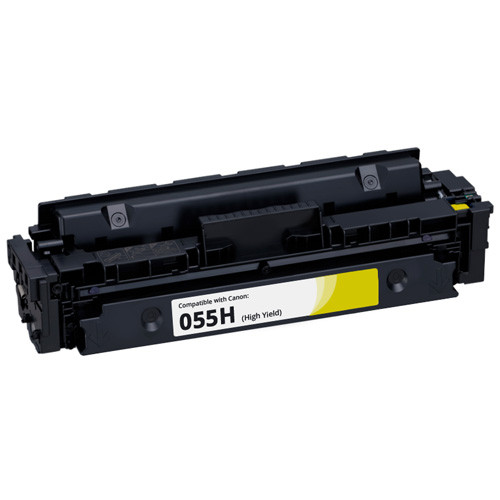 Canon 055H Yellow High-Yield Toner Cartridge