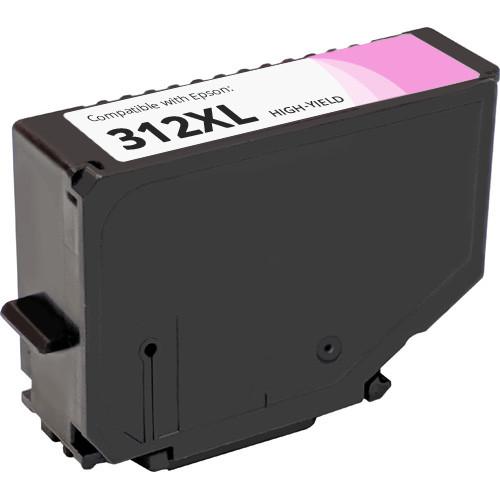 Epson 312XL Light Magenta High Yield Ink Cartridge (T312XL620)