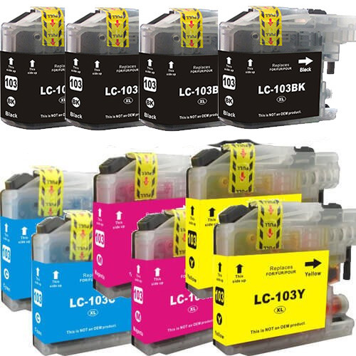 Brother LC103 High-Yield - 10 Pack