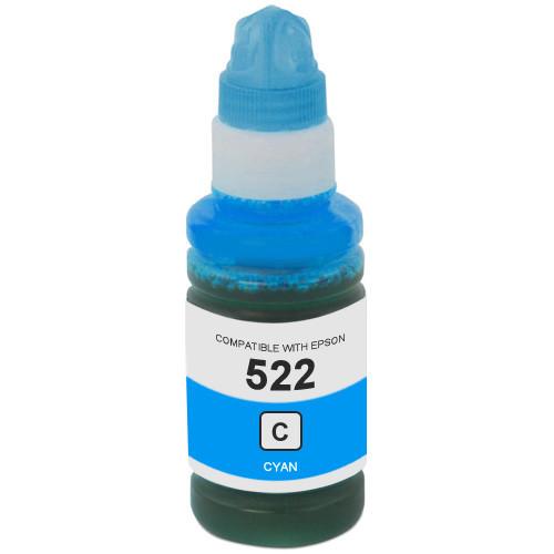 Epson 522 Cyan Ink Bottle (T522220-S)