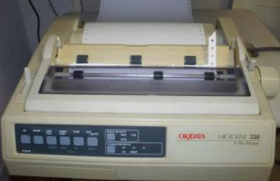 dot matrix printer