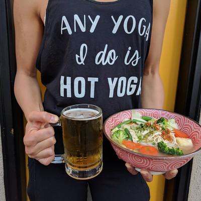 Pho Ga. Yoga. Repeat