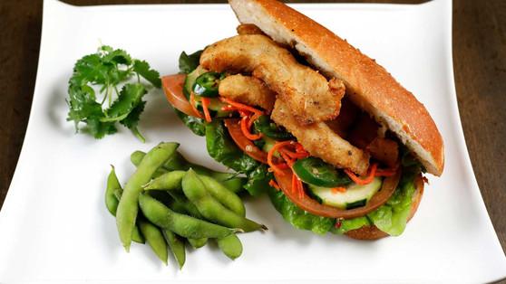 Crispy Basa Sandwich