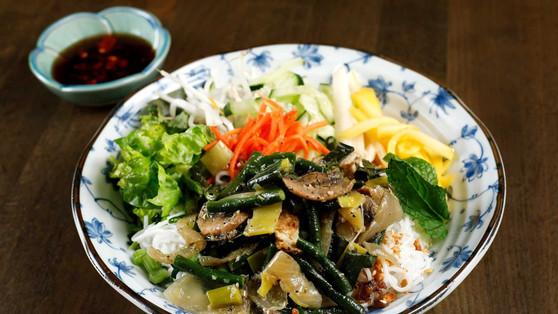 Lemongrass Tofu Vermicelli Bowl