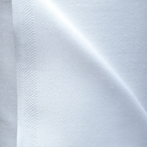 pure white 100% cotton sateen curtain lining
